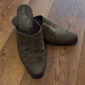 Mudd Shoes - Western Style Mules
